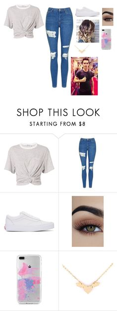 """Untitled #250"" by valeria-2002 on Polyvore featuring T By Alexander Wang, Topshop and Vans"
