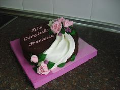 Tartas Personalizadas de Camelia                 : Tarta Cumpleaños Francesca