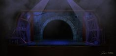 Stage Set Design on Behance, Jaysen Batchelor, Les Miserables