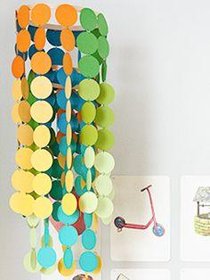 DIY Paper Dot Mobile