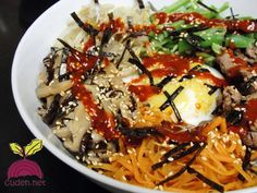 Bibimbap Ethnic Recipes, Food, Meal, Essen, Hoods, Meals, Eten
