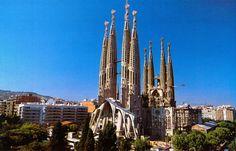 La Sagrada Familia, Gaudí.