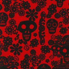 Viva! Skulls - Kaufman - 1 YDS - 9950 3
