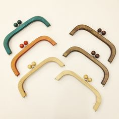 "@giiton's photo: ""WOODEN BAG CLASP"""