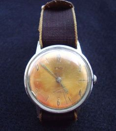 Vintage TIMEX Wrist Watch of 70's  #Timex #ContemporaryDesign