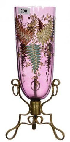 Moser Art Glass Vase