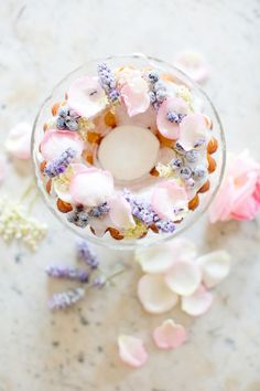 Sugared Elderflower Bundt Cake - Peony Lim