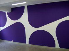 The crystal plumage: Jan van der Ploeg # Room Wall Painting, Room Paint, Tv Wall Design, Ceiling Design, Creative Wall Decor, Creative Wall Painting, Wall Paint Patterns, Bedroom Wall Designs, Home Ceiling