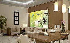 decoração para sala com 3 ambientes - Pesquisa Google