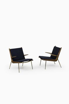 Peter Hvidt & Orla Mølgaard-Nielsen Boomerang easy chairs at Studio Schalling