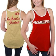 San Francisco 49ers Women's Home Game Tank Top - Scarlet