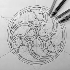 """Mi piace"": 457, commenti: 6 - Rafael Araujo (@rafaelaraujo2222) su Instagram: ""GOTHIC GEOMETRY #art #artist #artsy #painting #photo #drawing #math #geometry #nature #igers…"""