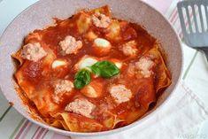 Lasagne in padella, scopri la ricetta: http://www.misya.info/ricetta/lasagne-in-padella.htm