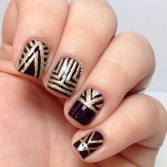 Art Deco Nails-GATSBY