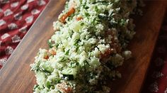 Pure Wow--Cauliflower Tabbouleh--This just sounds like the freshest lightest take on a salad yet!!