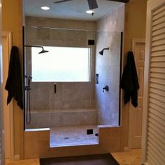 Master Bath Without Tub Designs
