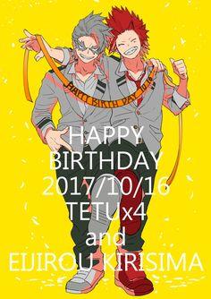 Kirishima & Tetsutetsu's Birthday [10.16]