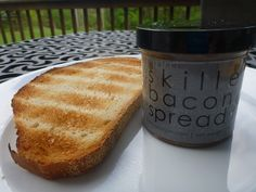 Bacon spread.  The thought of this pleases me.  I must try soon.