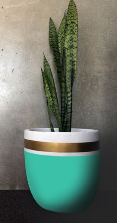Design Twins Pot in Royal – Terrace Outdoor Living