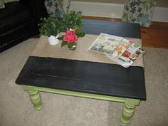 Chic and Lovely: Coffee Table / Child's Chalkboard Table