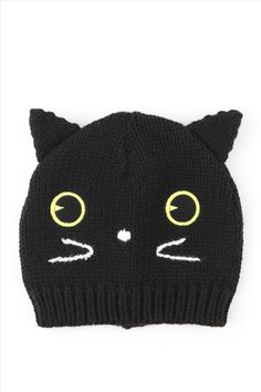 89070ad4272 cat beanie from Cotton On--I want this beanie. It s adorable!