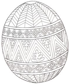 Easter printables: Easter egg mural printable | Jan Brett