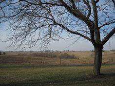 Iowa Countryside outside Iowa Township, along I80 west of Davenport.