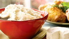 The perfect mashed potatoes recipe with rich & creamy Boursin cheese