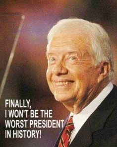 Even Jimmy Carter says he'd be comfortable with Romney as President.