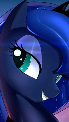 Princess Luna close up