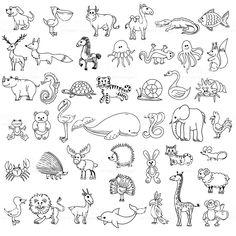 imagenes de animales terrestres acuaticos y aereos