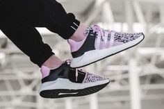 5e19e5fa412e BZ0583 adidas EQT Support 93 17 Wonder Pink On Feet Adidas Eqt Support 93