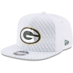 cheaper b4852 a8fd9 Men s Green Bay Packers New Era White 2017 Color Rush 9FIFTY Snapback  Adjustable Hat
