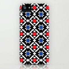 Scandinavian Folk Art Modern iPhone & iPod Case