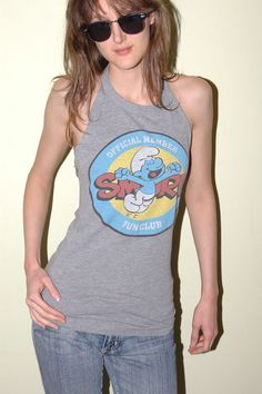 Smurfs DIY Halter T-Shirt