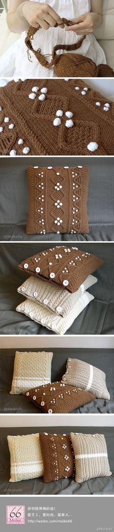 poduszki szydełko