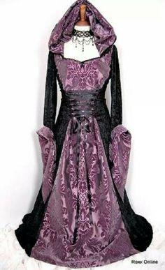 Middeleeuwse jurk - Pinned by The Mystic's Emporium on Etsy