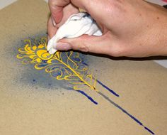 Rub ons resist Did you know using hambly rubons and mist creates a resist effect! Step 1 Rub your chosen rub on onto your cardstock (I have used some gorgeous yellow. Flower Mirror, Paper Crafts, Diy Crafts, Art Techniques, Cardmaking, Screen Printing, Card Ideas, Stencils, Stamps