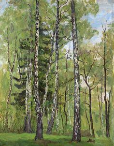 Spring Day - Pyotr Konchalovsky, 1955