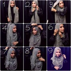 Gorgeous & Classy Hijab Look
