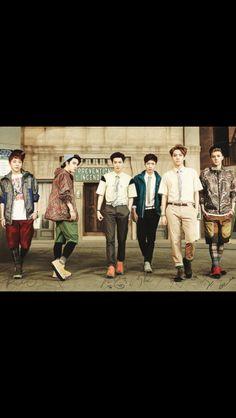 EXO for Kolon Sport (Xiumin, Kyungsoo, Suho, Lay, Baekhyun & Sehun) Kyungsoo, Chanyeol, Exo Fan, Kim Minseok, Kris Wu, Exo Members, Chinese Boy, Look At You, Pop Group