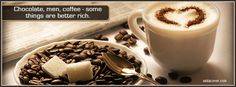 Coffee Quote Facebook Cover