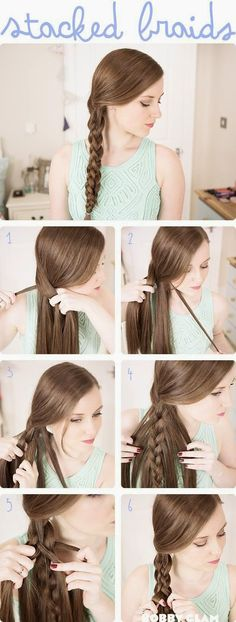 Cool Braids for Teens | popular hair tutorials 2014 for teens