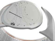 Diana watch is powered by solar energy, thanks to its wristband that is completely constructed from spheral solar cells, photovoltaic spheres with high generation efficiency(20%) that capture light from all the directions and that can be aligned on a flexible plastic film. Designed by Tommaso Ceschi.