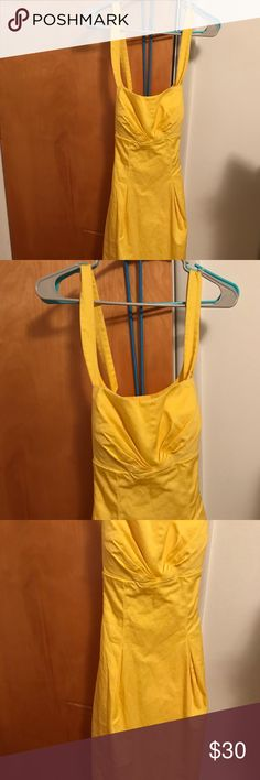 💛💛💛 Calvin Klein Yellow Dress Size 12 💛💛💛 Gorgeous yellow dress from Calvin Klein! Breathtakingly beautiful dress! Perfect condition! 💛💛💛   Buy 3 items get a suprise! 💛💛💛 Calvin Klein Dresses Midi