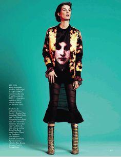 Marte Mei Van Haaster for Vogue Spain
