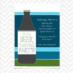 Beer Tasting Invite