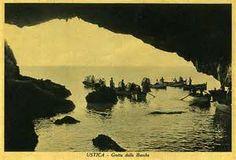 grotta delle barche. Ustica