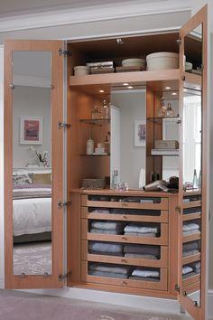 new ideas built in wardrobe closet m. new ideas built in wardrobe closet mirror Closet Mirror, Bedroom Closet Doors, Bedroom Cupboards, Room Doors, Bedroom Storage, Diy Bedroom, Storage Mirror, Mirror Door, Wall Storage