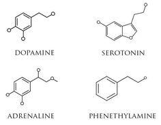 dopamine molecular structure - Google Search